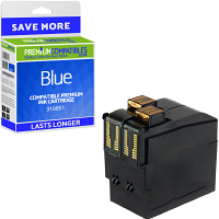 Premium Remanufactured Neopost 310051 Blue High Capacity Franking Ink Cartridge (300673)