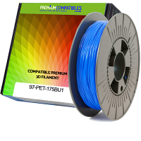 Premium Compatible PETG 1.75mm Sky Blue 1kg 3D Filament (97-PET-175BU1)