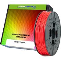 Premium Compatible PETG 2.85mm Red 0.5kg 3D Filament (98-PET-285RD1)