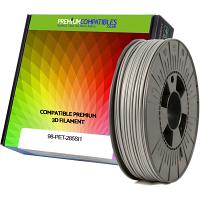 Premium Compatible PETG 2.85mm Silver 0.5kg 3D Filament (98-PET-285SI1)