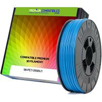 Premium Compatible PETG 2.85mm Sky Blue 0.5kg 3D Filament (98-PET-285BU1)
