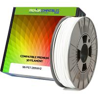 Premium Compatible PETG 2.85mm Snow White 0.5kg 3D Filament (98-PET-285WH2)