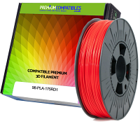 Premium Compatible PLA 1.75mm Red 0.5kg 3D Filament (98-PLA-175RD1)
