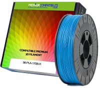 Premium Compatible PLA 1.75mm Sky Blue 0.5kg 3D Filament (98-PLA-175BU1)