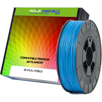 Premium Compatible PLA 1.75mm Sky Blue 1kg 3D Filament (97-PLA-175BU1)