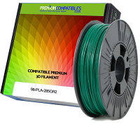 Premium Compatible PLA 2.85mm Dark Green 0.5kg 3D Filament (98-PLA-285GR2)