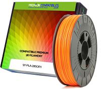 Premium Compatible PLA 2.85mm Orange 1kg 3D Filament (97-PLA-285OR1)
