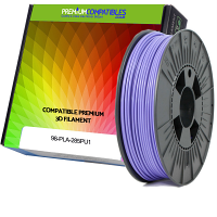 Premium Compatible PLA 2.85mm Purple 0.5kg 3D Filament (98-PLA-285PU1)