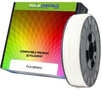 Premium Compatible PLA 2.85mm White 1kg 3D Filament (97-PLA-285WH1)
