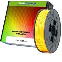Premium Compatible PLA 2.85mm Yellow 1kg 3D Filament (97-PLA-285YL1)