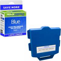 Premium Compatible Pitney Bowes 766-E Blue Franking Ink Cartridge (10009-800)