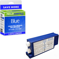 Premium Compatible Pitney Bowes 767-8SB / 767-8BN Blue Franking Ink Cartridge (10022-801)