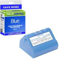 Premium Compatible Pitney Bowes 769-0 Blue Franking Ink Cartridge (769-0)