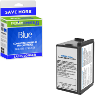 Premium Compatible Pitney Bowes 793-5SB / 793-5BI Blue Franking Ink Cartridge (10019-801)