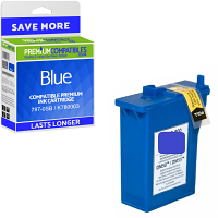 Premium Compatible Pitney Bowes 797-0SB / K780003 Blue Franking Ink Cartridge (10020-801)