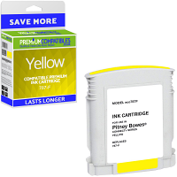 Premium Remanufactured Pitney Bowes Connect+ 787-F Yellow Franking Ink Cartridge (10428-803)