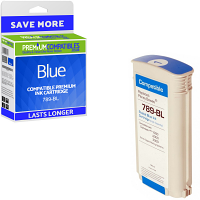 Premium Remanufactured Pitney Bowes Connect+ 789-BL Blue High Capacity Franking Ink Cartridge (10423-801)