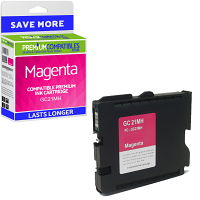 Premium Compatible Ricoh GC21MH Magenta High Capacity Gel Ink Cartridge (405538)
