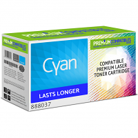 Premium Compatible Ricoh Type 105 Cyan Toner Cartridge (888037)