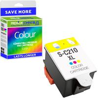 Premium Compatible Samsung C210 Colour Ink Cartridge (INK-C210/ELS)
