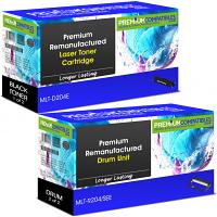 Premium Remanufactured Samsung MLT-D204E / MLT-R204 Black High Capacity Toner Cartridge & Drum Unit Combo Pack (MLT-D204E & MLT-R204/SEE)