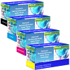 Premium Remanufactured Sharp MX36GT CMYK Multipack Toner Cartridges (MX36GTBA/ MX36GTCA/ MX36GTMA/ MX36GTYA)