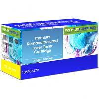 Premium Remanufactured Xerox 106R03479 Yellow High Capacity Toner Cartridge (106R03479)