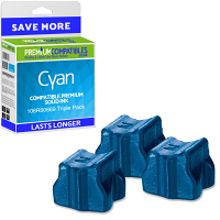 Premium Compatible Xerox 108R00669 Cyan Triple Pack Solid Ink (108R00669)