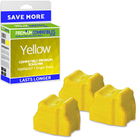 Premium Compatible Xerox 108R00671 Yellow Triple Pack Solid Ink (108R00671)