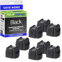 Premium Compatible Xerox 108R00709 Black 8 Pack Solid Ink (108R00727)