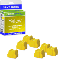 Premium Compatible Xerox 108R00748 Yellow 7 Pack Solid Ink (108R00748)