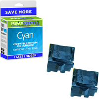Premium Compatible Xerox 108R00931 Cyan Twin Pack Solid Ink (108R00931)