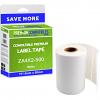 Premium Compatible Zebra 101.5mm x 50mm White Standard Shipping Label Roll - 500 Labels (ZA4X2-500)