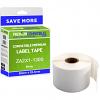 Premium Compatible Zebra 50mm x 25.4mm White Small Address Label Roll - 1,300 Labels (ZA2X1-1300)