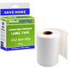 Premium Compatible Zebra 63.5mm x 101.5mm White Shipping Label Roll - 500 Labels (ZA2.5x4-500)