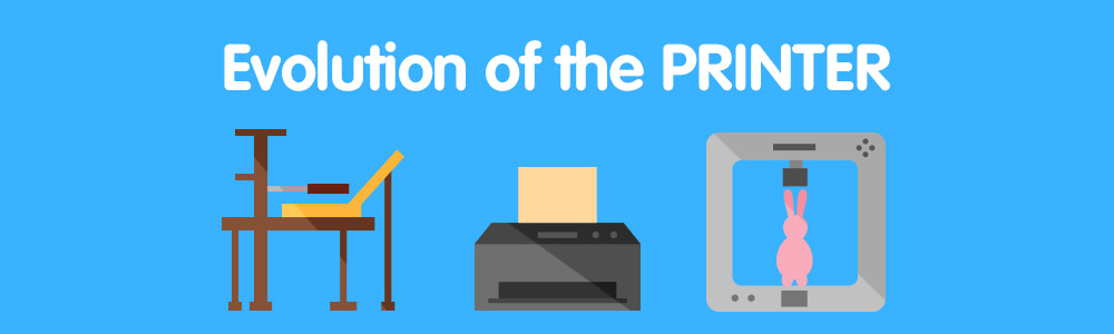 The Evolution of the Printer by Premium Compatibles