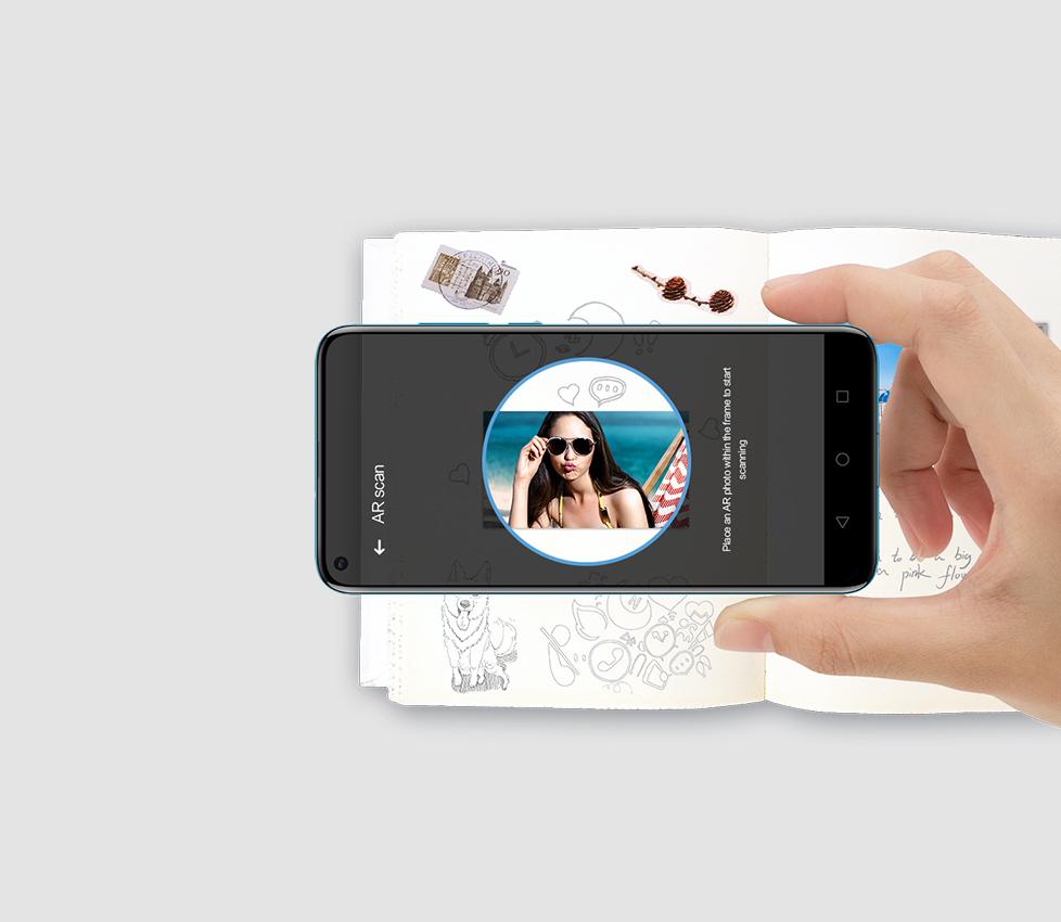 Augmented Reality Huawei Pocket Printer