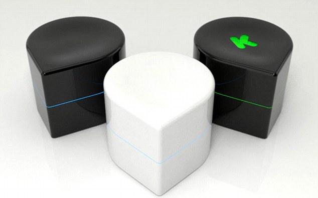 Zuta Labs Pocket Printer that runs on wheels